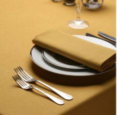 Gouden Treb Color Collection Servetten, 4 Stuks, 51x51cm, Gold, Treb SP, Aanbevolen Stof