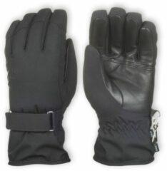 Zwarte Ziener Beste Koop Kahili dames vinger handschoenen