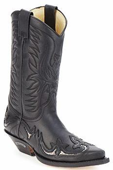 Afbeelding van Zwarte Laarzen Sendra boots CLIFF