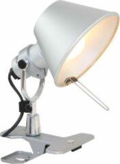 Grijze Artemide tolomeo - Bureaulamp - 1 lichts - H 200 mm - Aluminium