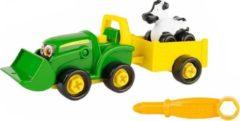 Tomy Tractor Buddy Bonnie Junior 15 Cm Groen/geel 11-delig