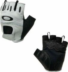 Grijze Oakley Factory Road 2.0 - Fietshandschoenen - maat S - Stone Gray