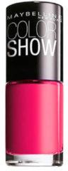 Roze Maybelline Color Show nagellak - 6 bubblicious