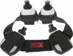Red-x Bidonriem Voor 4 Bidons Zwart Maat S