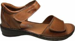 Manlisa dames sandalen S245-534 cognac mt 38