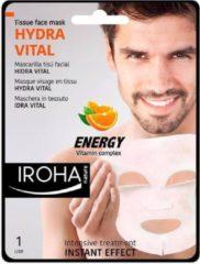 Iroha Men Tissue Face Mask Hydra Vital Vitamin C 1 Use