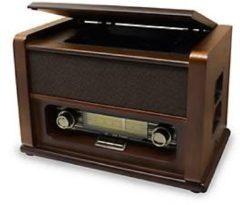 Soundmaster NR 679 CD Nostalgie Musikcenter mit CD und UKW Radio Soundmaster braun