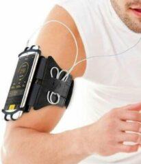 Zwarte Cacious Advanced Sport- / Hardloop Armband - Geschikt voor alle Smartphones