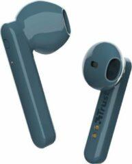 Trust Primo Touch - Stijlvolle draadloze oortjes - Bluetooth - Blauw