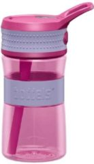 Boddels EEN Drinkfles voor kinderen & volwassenen - 400 ml - Roze/Lavendel