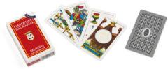 Dal Negro speelkaarten Piacentine 91 mm PVC rood 40-delig