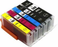 Cyane MediaHolland Huismerk CLI-581/PGI-580 cartridges 5 stuks met chip