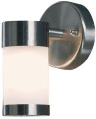 Konstsmide Moena 7593-000 Buitenlamp (wand) Energielabel: C (A++ - E) Halogeen G9 25 W RVS