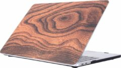 Gele Mobigear Hardshell Case Wood Serie 11 Macbook Pro 13 inch Thunderbolt 3 (USB-C)