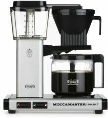 Technivorm Filterkoffiemachine KBG Select, Matt Silver - Moccamaster