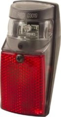 Zwarte Spanninga SPX Fiets achterlicht - Batterij