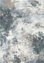 Eurogros Vintage Vloerkleed - Blauw/Wit - Stijlvol - Duurzaam - Anti allergie - Onderhoudsvriendelijk - Luxueus - Geluiddempend