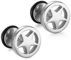 Zilveren Mendes Star Stud oorbellen Silver