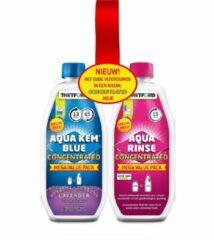 Blauwe Thetford Aqua Kem Duo pack Blue Lavender / Rinse Concentrated