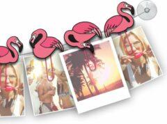 Mustard Funny Fotoclips - ClipIt Flamingos - Set van 6 Stuks Roze