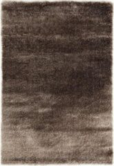 Impression Rugs Pearl Effen Vloerkleed Taupe Hoogpolig - 120x170 CM