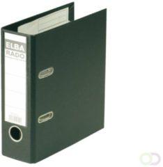Elba Rado Plast ordner voor ft A5 staand, zwart, rug van 7,5 cm