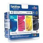 Brother - LC-1100VALBP - Inktcartridge MultiPack | Milieuvriendelijke verpakking met Originele Brother Inktcartridges