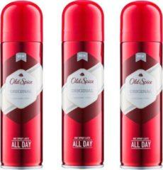 Old Spice Original Deo Spray - Voordeelverpakking 3 x 150 ml