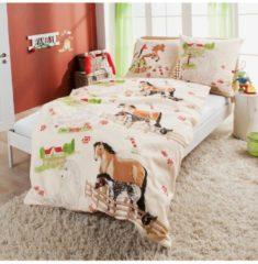 Kinderbutt Bettwäsche Renforcé Kinderbutt natur