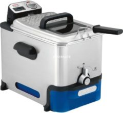 Tefal Fritteuse FR8040 Oleoclean Pro Inox & Design, 2300 Watt, 3,5 Liter, schwarz