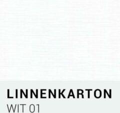 Linnenkarton notrakkarton Linnenkarton 01 Wit A4 240 gr.