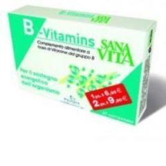 Paladin Pharma SANAVITA B-Vitamins integratore di Vit gruppo B OFFERTA 2 CONFEZIONI