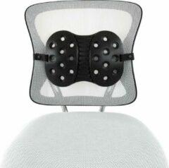 Zwarte Backjoy Lumbar support - Rugsteun Zithouding Bureaustoel Auto - Rugpijn Onderrug