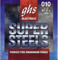 GHS ST-L Super Steels light snarenset voor elektrische gitaar