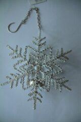 Zilveren The go'round Hanger sneeuwvlok voor waxinelichtje
