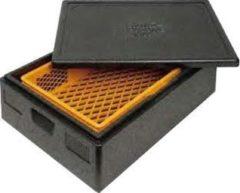 Zwarte Thermo Future Box Thermobox bakery 60 x 40 x 30 cm