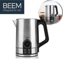 BEEM Water Switch Deluxe, waterkoker met individuele temperatuurselectie, RVS, 1,7L