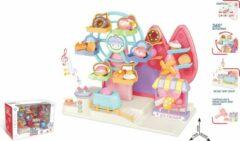 FDBW Speelgoed Kind 3 jaar – Reuzenrad | Speelgoed Ijsjes Set | Speelgoed Ijskraam | Ijs Set – Speelgoed – vanaf 3 jaar - Reuzenrad