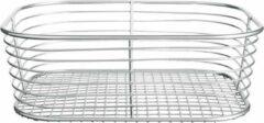 Zilveren Badkamer mandjes chroom iDesign - Vienna | Klein (24 x 18.5 x 8 cm)