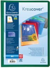 Exacompta Kreacover® Chromaline Personaliseerbare showalbums PP met vaste rug - 30 tassen - 60 zichten - A4. (5730E)
