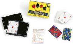 Dal Negro kaartspel Burraco 6,3 x 8,8 cm PVC geel 110 stuks