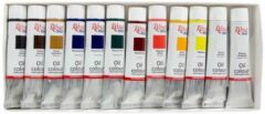 Rosa Gallery Olieverf Set 12x20ml