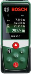 Laserafstandsmeter Bosch Home and Garden PLR 30 C Bluetooth, Documentatie-app Meetbereik (max.) 30 m Kalibratie conform: Fabrieksstandaard (zonder certificaat)