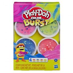 Play-Doh PD Kleur Explosie 4 Pack Asst - E6966
