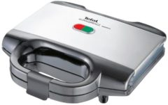 Tefal Sandwichmaker Ultracompact SM1552, edelstahl