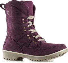 Sorel Meadow Lace - Snowboots - Vrouwen - Maat 36 - Paars/ Grijs