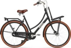 28 Zoll Damen Holland Fahrrad Popal Daily Dutch Prestige... matt-schwarz, 57cm