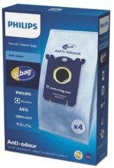 Philips S-Bag Anti-Geruch Staubsaugerbeutel FC8023/04