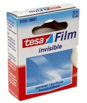 Bruna Onzichtbaar plakband Tesa film 19mmx33m