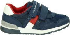 Tommy Hilfiger jongens klittenbandschoen - Blauw - Maat 28